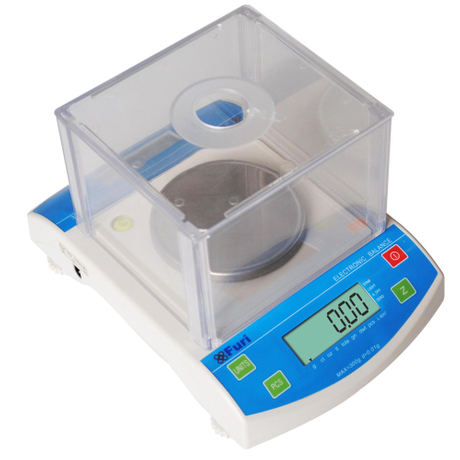 FET Digital Analytical Balance Laboratory Precision Weighing Balance Scale